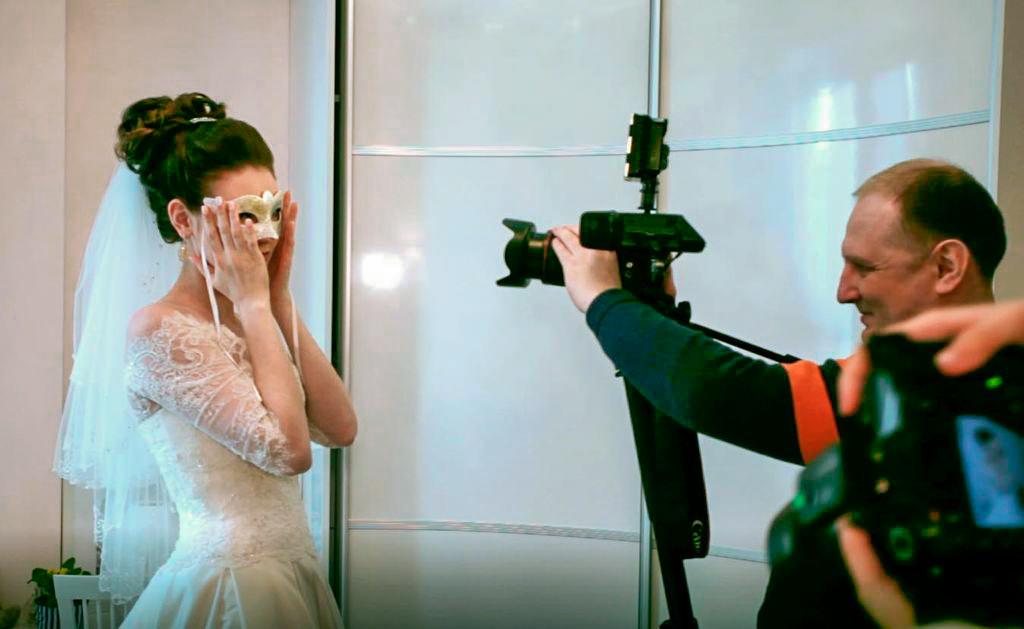Видеосъемка на свадьбу цена